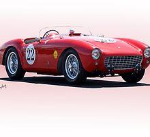 1954 Ferrari Mondial Racecar by DaveKoontz
