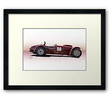 1953 Kurtis 500S Racecar Framed Print