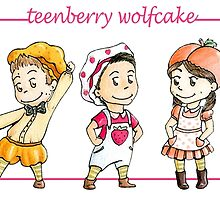 TEENberry WOLFcake by aredblush