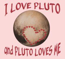 PLUTO Love! I love Pluto One Piece - Long Sleeve