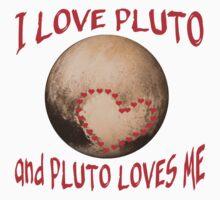 PLUTO Love! I love Pluto Kids Tee