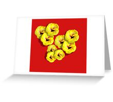The Yellow Hibiscus Greeting Card