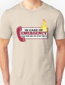 It Crowd Inspired - New Emergency Number - 0118 999 881 99 9119 725 3 - Moss and the Fire Unisex T-Shirt