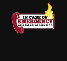 It Crowd Inspired - New Emergency Number - 0118 999 881 99 9119 725 3 - Moss and the Fire T-Shirt