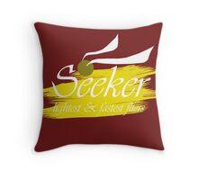 Quidditch Seeker Throw Pillow
