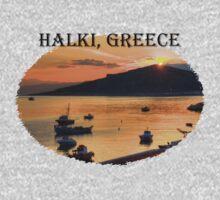 Halki Sunrise (version 1) Kids Tee
