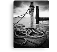 Hemp rope Canvas Print