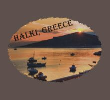 Halki Sunrise (version 2) Kids Clothes