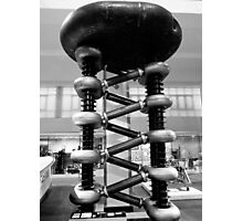 Particle accelerator Photographic Print