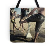 Beach Dances Tote Bag