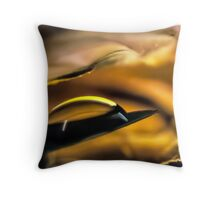 Infused with Fires Throw Pillow