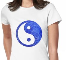 ying-yang Womens Fitted T-Shirt