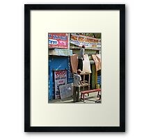 helping out Framed Print