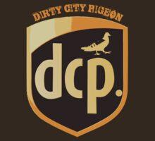 messenger pigeon by dirtycitypigeon