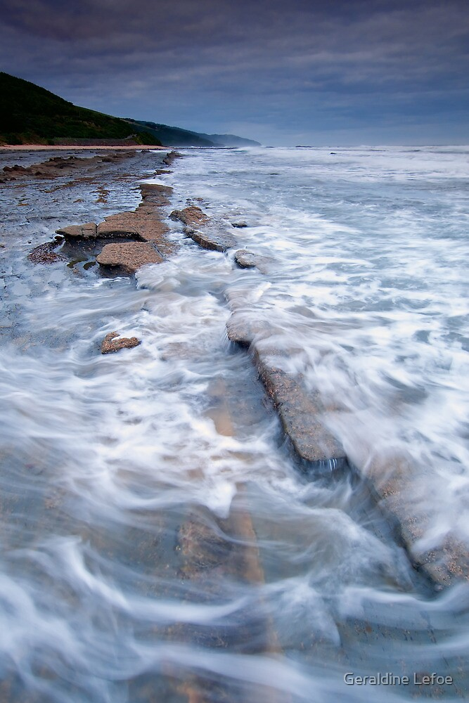 Going with the flow by Geraldine Lefoe
