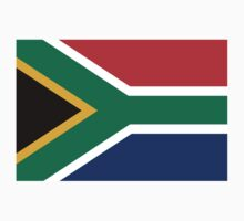 South African Flag Kids Clothes