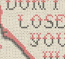 Stitch la Kill - Don't Lose Your Way Sticker