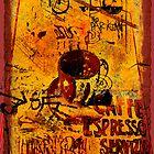 Cafe Espresso Servizio by Jeff Burgess