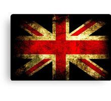 UK Grunge Flag Canvas Print