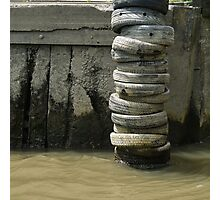 Dock fender Photographic Print