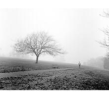 Fog at Ruffey Lake Park Photographic Print