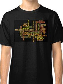 Wordle Fetish Classic T-Shirt