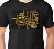 Wordle Fetish Unisex T-Shirt