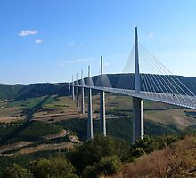 Millau..how beautiful is a bridge? by tim norman
