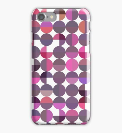 Abstract seamless pattern with circles. iPhone Case/Skin