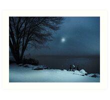 Moonlight Romp Art Print