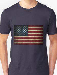 USA Grunge Flag T-Shirt
