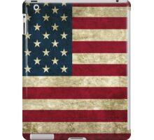 USA Grunge Flag iPad Case/Skin