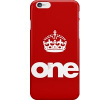 ONE iPhone Case/Skin