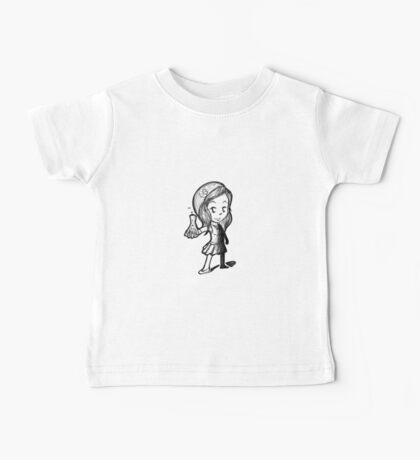 Lydia Martin Team Human Baby Tee