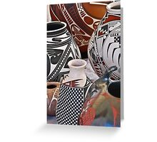 Mata Ortiz Pottery Greeting Card