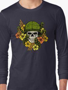 Tropical Print (Military Edition) Long Sleeve T-Shirt