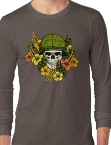 Tropical Print (Military Edition) Long Sleeve T-Shirt