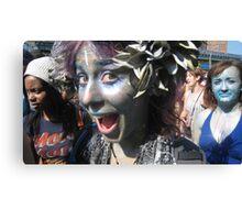 Mermaid parade 2 Canvas Print