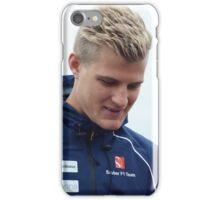 Marcus Ericsson iPhone Case/Skin