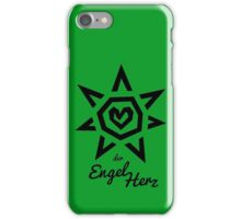 Der Engel Herz - BLACK iPhone Case/Skin
