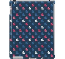Summer pattern with boat. iPad Case/Skin