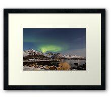 Lofoten Aurora Framed Print