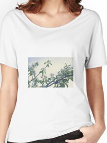 Pear blossoms Women's Relaxed Fit T-Shirt