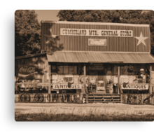 Cumberland Mountain General Store Canvas Print