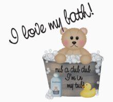 I Love My Bath by Judith Hayes