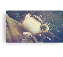 Adventure Tea Canvas Print