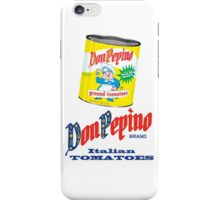DON PEPINO iPhone Case/Skin