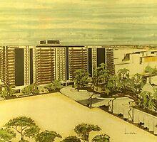 Real building by Heberto   G. Cavazoz