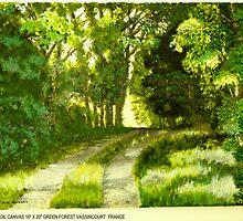 Green Forest by Heberto   G. Cavazoz