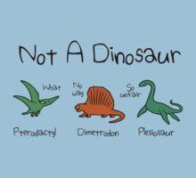 Not A Dinosaur (Pterodactyl, Dimetrodon, Plesiosaur) Kids Tee